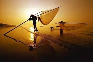 東興金灘蝦燈奇觀、京島博物館、獨弦琴、踩高蹺捕撈純攝影二日