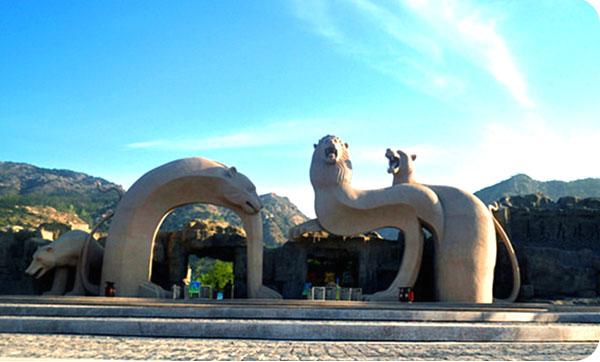 黄岛森林动物园,金沙滩 +青岛市内纯玩二日 淄博出发旅游