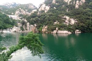 <青岛崂山两日游>太阳城娱乐国际旅行社出发崂山北九水 跨海大桥