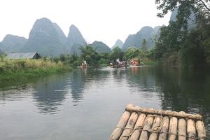 山水桂林 桂林超值5日游 全程无自费无购物 不更换景点