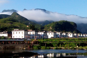 野三坡百里峡、【百草畔】、印象野三坡演出+竹筏漂流三日