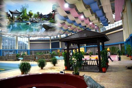 【莱芜】莱芜棋山温泉小镇一日游 充满异域风情的温泉小镇