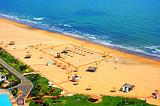 【海阳纯玩】海阳万米海滩、出海捕鱼、赶海园滩涂拾贝纯玩两日游