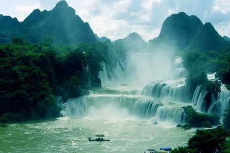 【美景桂西南】郑州到巴马长寿乡、德天瀑布、北海双飞6日游