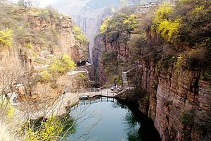 新乡辉县万仙山风景区