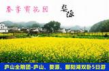【庐山全陪团】庐山、婺源油菜花、景德镇、鄱阳湖双卧5日游