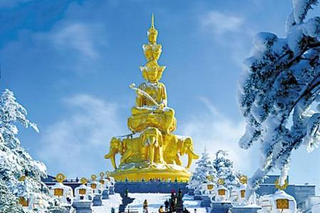郑州到成都、九寨、黄龙、乐山、峨眉双卧品质九日游