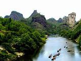 春节-武夷山(天游、九曲溪、虎啸岩一线天)高铁二日游
