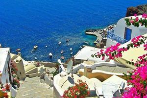 【青岛到希腊旅行团】浪漫爱琴海八日游