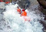 深圳去清远五星漂流金溪瀑布探险红不让百菇园一天团