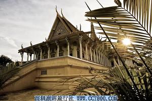 柬埔寨首都金边、暹粒吴哥窟双飞五天四晚游(全程入住四星酒店)