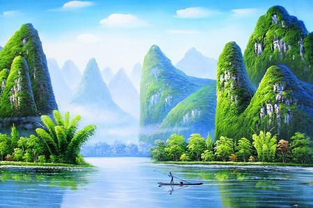 桂林阳朔遇龙河+龙脊梯田+乐满地+象鼻山纯玩5天4晚跟团游