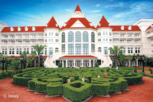 香港迪士尼乐园+海洋公园4日自由行_送迪士尼好莱坞酒店
