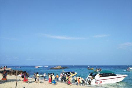 【海岸风情】海南三亚海岛豪华5日游 4晚连住5星级酒店