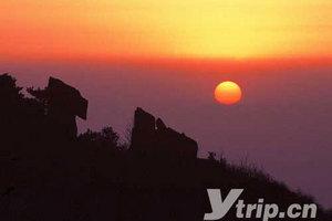 【泰山观日出二日游】全程步行看美丽日出,前山上,后山下