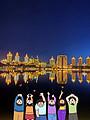 满洲里套娃广场、北湖公园、婚礼宫、中苏金街夜游