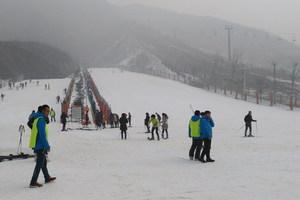 石家庄西部长青滑雪场一日游