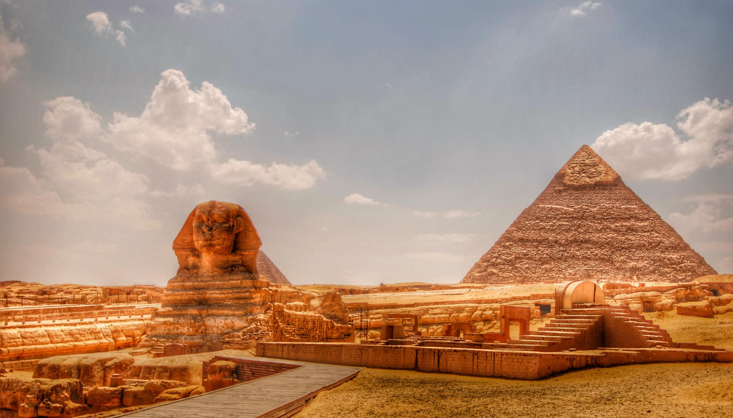 埃及金字塔,狮身人面像