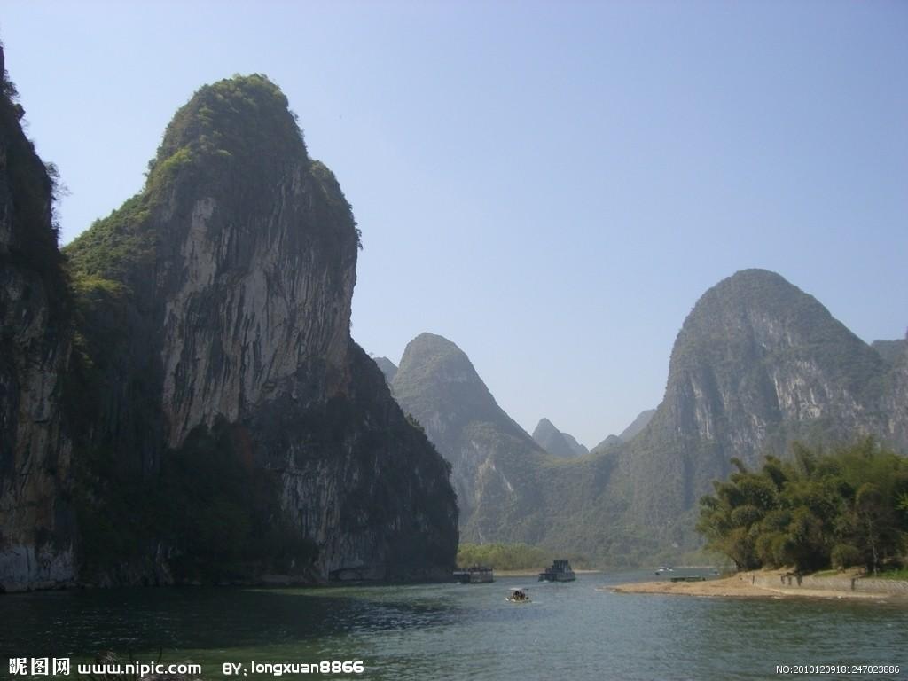 青岛到桂林大漓江,冠岩景区