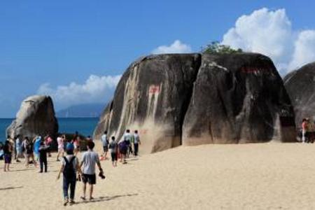 海南推荐景点 海南去天涯海角西岛大小洞天槟榔谷 双飞6天