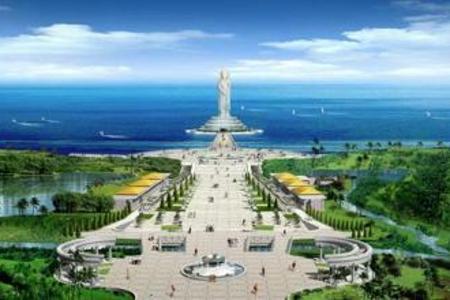 海南旅游大全 青岛到海南南山 槟榔谷 西岛 双飞6日游