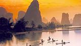 假期带孩子去哪玩  青岛到桂林阳朔双飞六日游