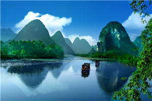 桂林大漓江阳朔银子岩象山传奇 双飞三晚四日游