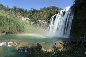 重庆出发 世界自然遗产赤水大瀑布+四洞沟二