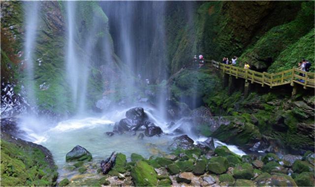 仙女山-天生三桥-龙水峡地缝-(印象武隆)二日
