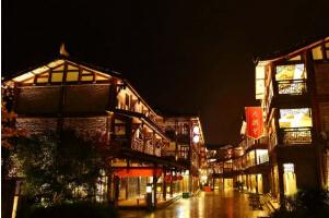 金佛山、天星小镇、天星国际温泉城纯玩二日游