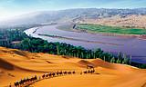 西北四省.夕阳红包列.新疆、甘肃、青海、宁夏双卧12日游