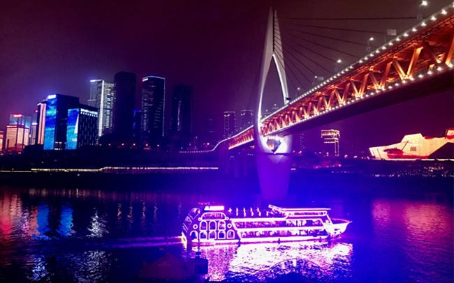 重庆两江夜游
