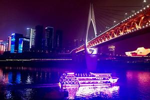 重庆两江夜游游船一日游金碧系列交运系列朝天系列船票