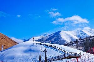 全程0购物重庆-毕棚沟+鹧鸪山滑雪纯玩3日游赠送篝火晚会