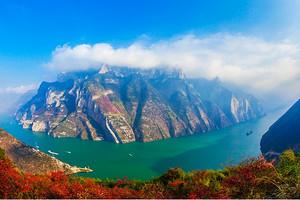 宜昌-重庆长江三峡国内游船单程3天2晚跟团游全程标间渝之旅
