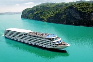 宜昌-重庆长江三峡游轮旅游|单程5天4晚豪华游轮长江三峡旅游