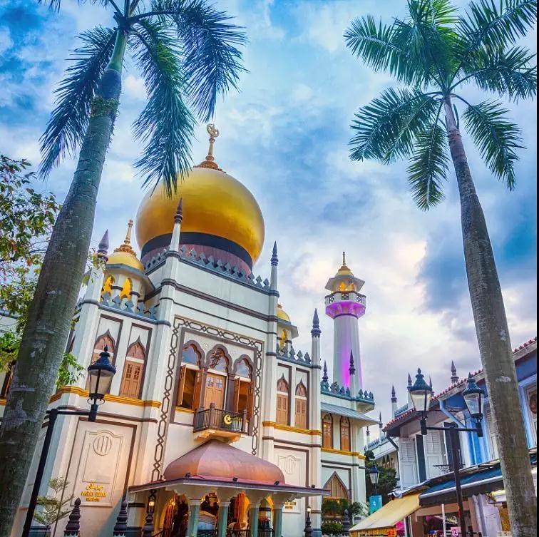 新加坡--美丽的狮城