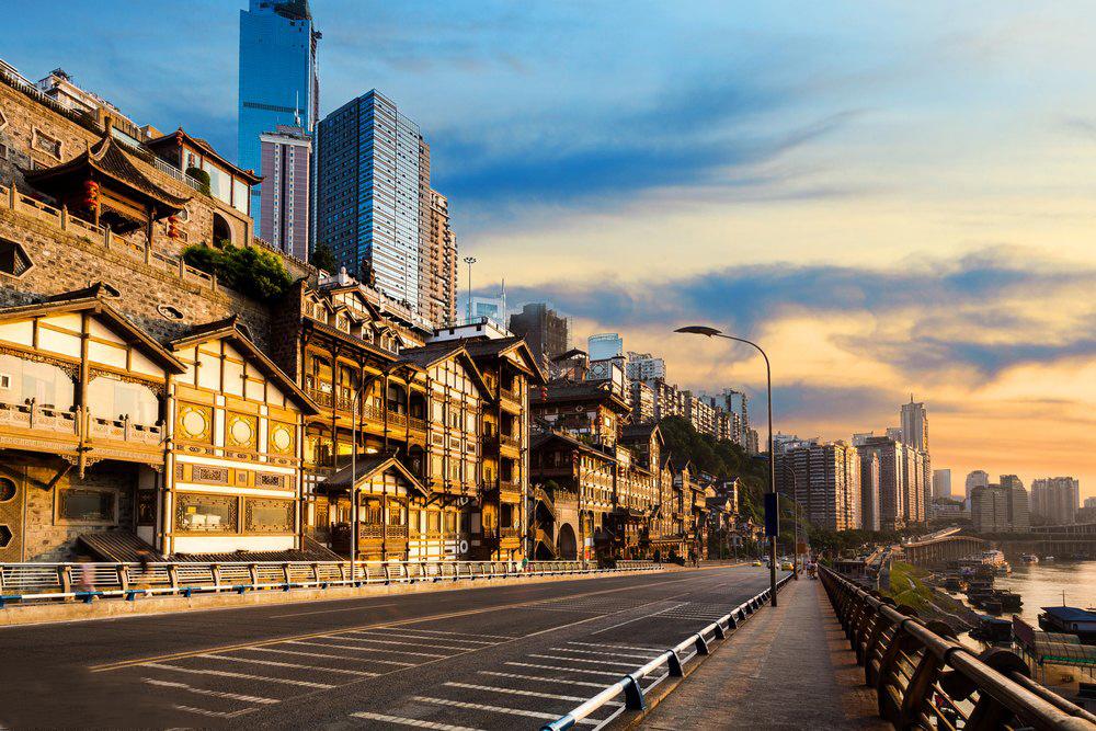 重庆洪崖美丽夜景—重庆旅游攻略