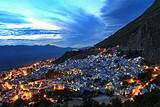 重庆出发摩洛哥11日游(骑骆驼沙漠赏日落)蓝色小镇沙漠风情