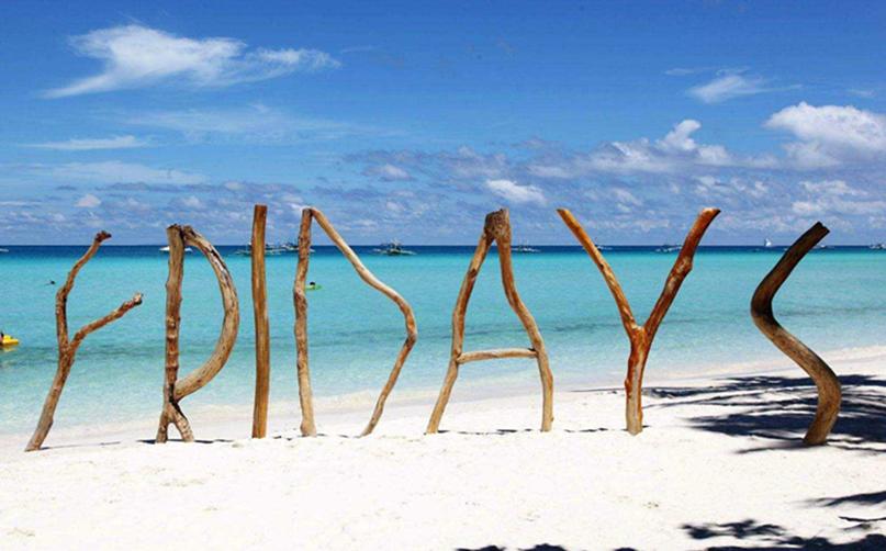 蜜月长滩岛 最美白沙滩