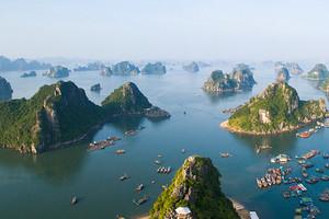 北海到越南下龍灣、迷宮仙境、天堂島、月亮湖三日游品質團