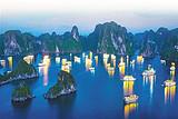 北海到越南下龍灣、天堂島、月亮湖、吉婆島、蘭沙灣四日游