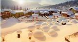 银川到哈尔滨、冰雪大世界、亚布力、梦幻雪乡单飞8日游