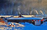 银川到哈尔滨、亚布力滑雪、双峰雪乡戏雪、镜泊湖冰瀑6日游