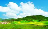银川清明节跟团去甘南拉扑楞寺、桑科草原双卧四日游