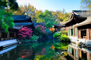 厦门到华东旅游【12-1月特惠江南】上海+苏州+杭州四日游