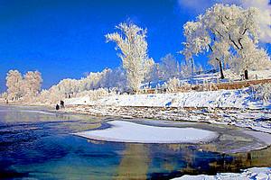 东北团旅游【12月东北环线】吉林雾凇万科滑雪哈尔滨双飞6日游