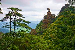 江西旅游【7-8人间仙境】三清山高铁三日游
