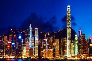 香港一地纯玩【7-8月香港海洋公园+迪士尼乐园四日】天天发团