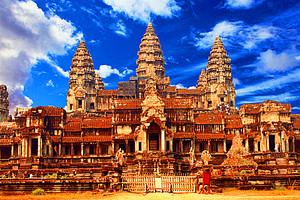 柬埔寨旅游【10月金色吴哥深度五日游】包机直飞